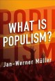 Go to record What is populism?